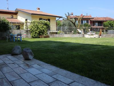 Photo for Family Friendly, Spacious Apartment with Wi-Fi, Pool, Lawn and Patiol