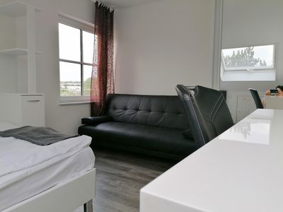 Photo for 2 rooms APARTMENT Roof Floor Near Frankfurt Airport