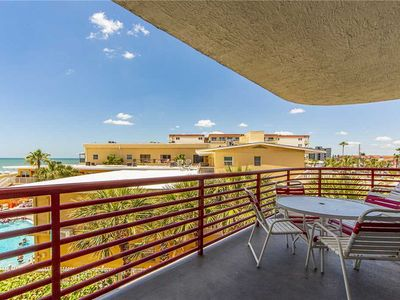 Photo for Live The Dream! Large 1,225 sq ft Unit with Gulf Views From Balcony - Free WiFi - Crimson