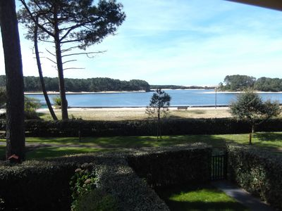 Photo for T2 facing the marine lake of old boucau residence the marine soustons beach