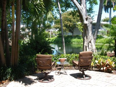 Photo for NEW LISTING!  5-MINUTE WALK TO THE BEACH, DINING & SHOPPING! RARE PRIVATE PATIO!