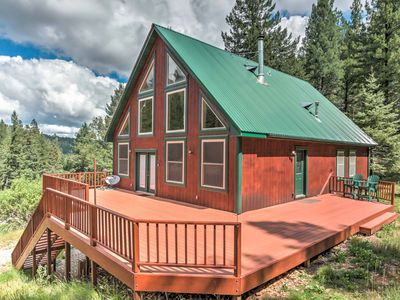 Rustic Cloudcroft Cabin on 10 Acres w/Grill & Deck