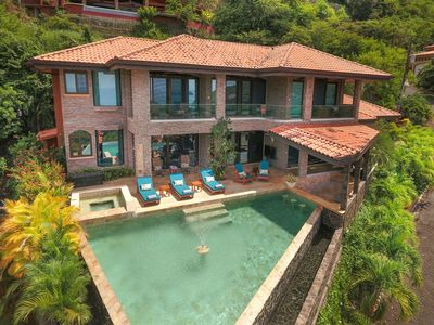 Photo for 3 Bedroom Luxury Ocean View Home with Infinity Pool & Bar!!