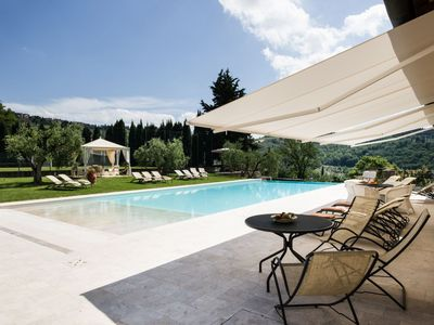 Photo for Two Bedroom Split level Apartment Chianti   Gorgo is a delightful split level apartment on a wine producing