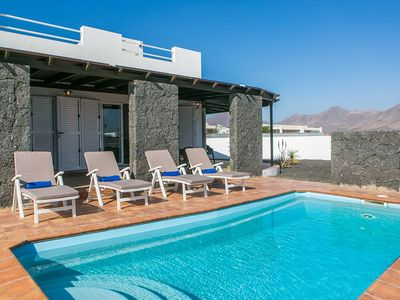 Photo for Villa Mandy. Private Pool And Roof Sun Terrace