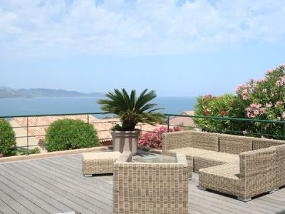 Photo for Sea view apartment in St Florent