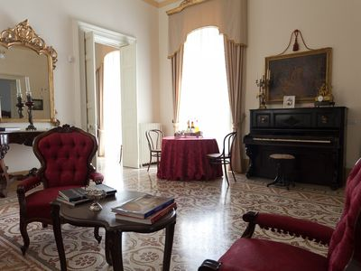 Photo for Large apartment in the elegant Palazzo Pio