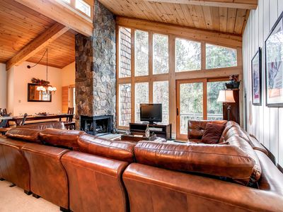Photo for 20% Off! Wi-Fi, Wood Fireplace, Private Balcony with River & Forest Views