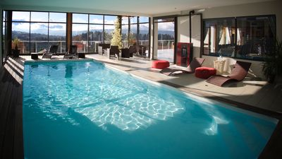 Photo for charming cottage with indoor pool