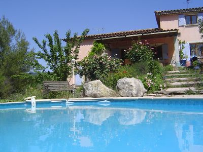 Photo for charming villas in the Provencal countryside with swimming pool