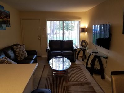 Photo for GREAT GOLF, TENNIS AND POOL CONDO NEWLY FURNISHED.  20 MINS TO PALM SPRINGS !!!!