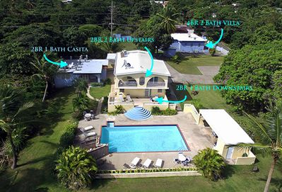 Aerial of Casa Ladera property