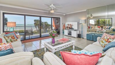 Photo for Upscale Gulf Front Paradise - Renovated - Wrap around balcony - Only 1 week left in May!