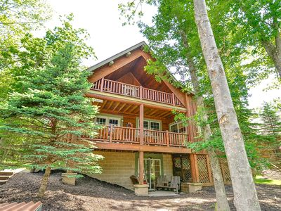 Photo for Shiver Me Timbers- Beautiful Home in Picturesque Yellowstone Cabin Community