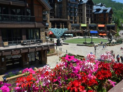 Photo for In the heart of Vail Village, on Gore Creek.  World class services and amenities