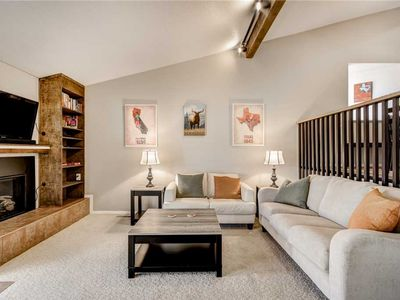 Photo for Aspen Run Condo #21, 2 Bedrooms, Fireplace, Covered Patio, WiFi, Sleeps 4