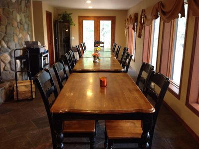 Dining room in Ranch house