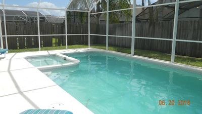 Photo for Beautiful 4 bedroom, 3 bath home with pool and spa