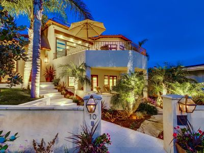 An exclusive home, beachfront home