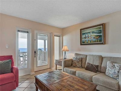 Living Area on 1st Floor with a Great View!