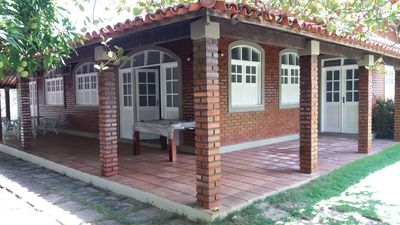 Photo for Beach House with 2 thousand square meters, walled 3/4 with pool and barbecue