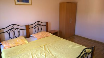 Photo for bedroom No.1: double rooms; double bed; 1 extra bed available; laminated wood flooring