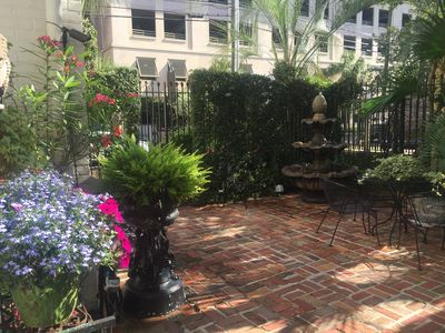 Photo for Jewel In The Middle Of Historic District, Gated Courtyards With Fountains