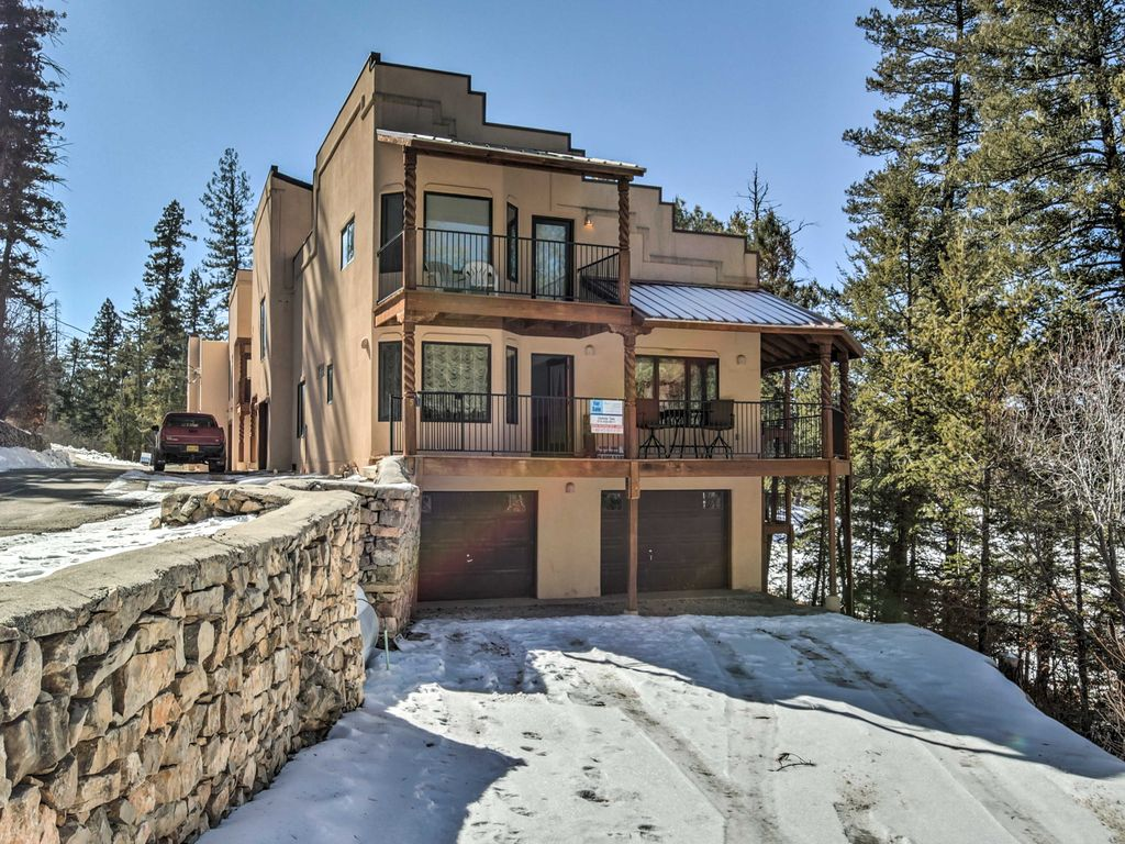 Remodeled 5br Cloudcroft Home W Deck And Fireplace