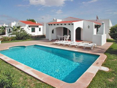 Photo for Vacation home Villas Begonias (CBO110) in Cala'n Bosch - 6 persons, 3 bedrooms
