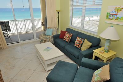 You can't top a corner unit with majestic views of the gulf & white sand beaches