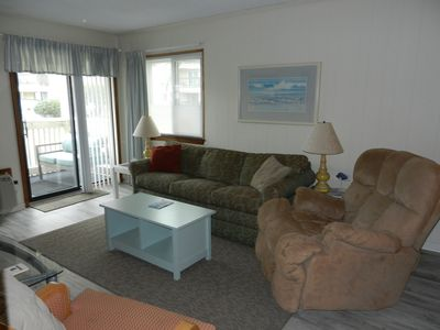 Photo for FIRST floor with pool AND ocean view. GREAT LOCATION and 2 weeks left for summer