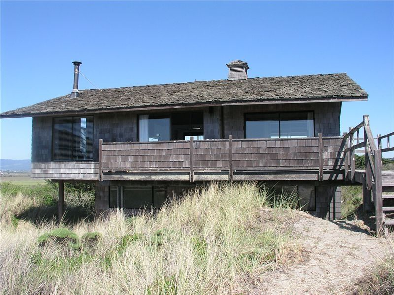 Ocean View Beach House In The Sand Dunes On Monterey Bay