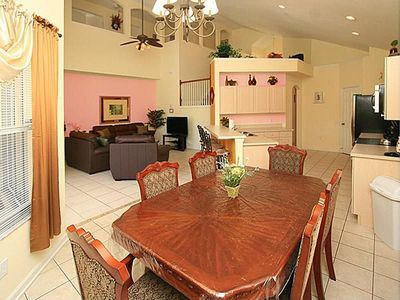 Photo for Delightful 6-BR, 3.5-Bath Windsor Palms Pool Home, 3 miles to Disney