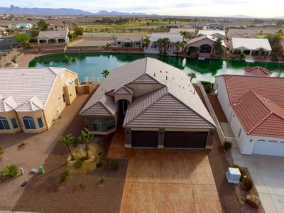 Photo for New Home in Gated Los Lagos Community on Man-made Lake, next to Golf Course