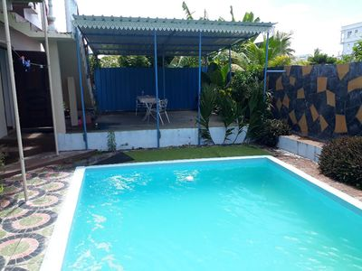 Photo for Brand new 2-rooms apartment with pool, 50 metres from beach,  next to LUX hotel