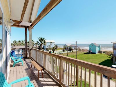 Photo for Gulf view home w/ new decor, decks & amazing views - steps to beach, dogs OK!