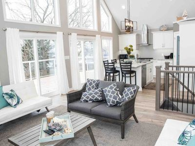 Photo for Newly Built Cottage with a Stunning View! (Upper level)