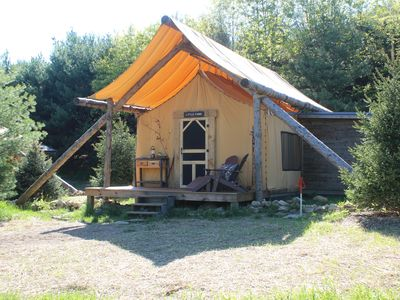 Photo for Little Fawn Tent- The Meadows Tent Camp on 400 Acre Wooded Retreat