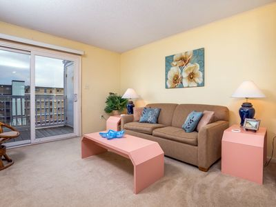 Photo for Two bedroom, two bath condo on 56th Street with view of the ocean