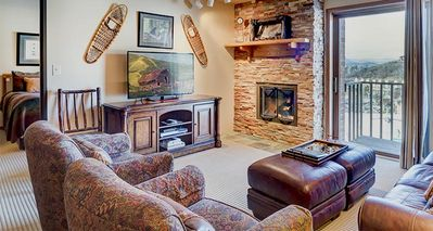 Photo for Bear Claw 512: 3 BR / 2 BA condo in Steamboat Springs, Sleeps 9