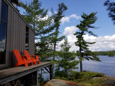 Photo for Idyllic Modern Cottage on Roxborough Island, Best Views on Stoney Lake