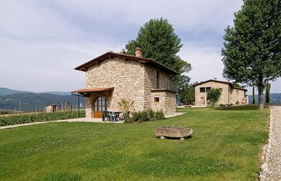 Photo for Two Bedroom Split Level Cottage Casentino  Fiorino C Cottage is situated in a lovely position on a