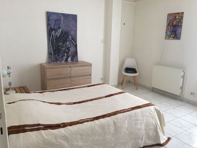 Photo for Nice apartment of 50m2 in the city center for 4 travelers + 1 baby