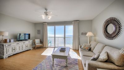 Photo for GREAT VIEWS!! 1 BD/ 2 BA with BUNKS!  FREE  BEACH CHAIRS! BOOK AUG/SEPT NOW!