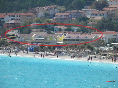 Photo for Holiday apartment close to the beach with air conditioning, for 2-4 persons