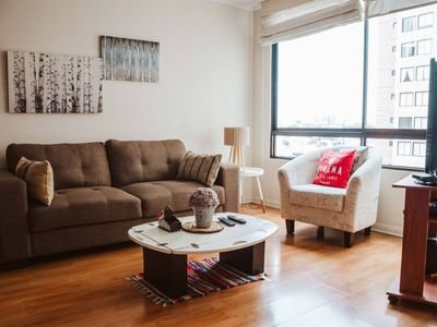 Photo for Comfy apartment in the heart of Miraflores