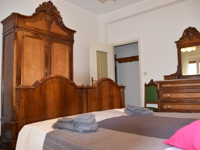 Photo for SPACIOUS ELEGANT APARTMENT RAPALLO CENTRO 2 BEDROOMS 2 BATHROOMS SLEEP 6