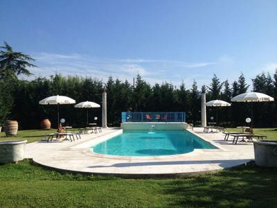 Photo for 4 bedroom Villa, sleeps 8 in Casa di Cio with Pool and WiFi