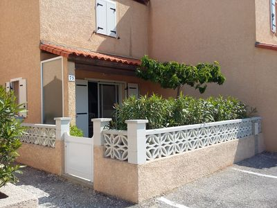 Photo for Villa in a secured private residence, 2 pools, beach 100m DBiT internet.