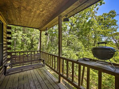 Photo for NEW! Secluded Studio w/Deck, 8.5mi to Beaver Lake!